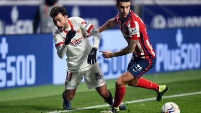 """""""Атлетико"""" уверенно победил """"Севилью"""" и упрочил лидерство в Ла Лиге"""