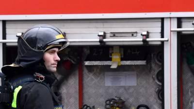 В Петербурге на территории овощебазы произошёл пожар