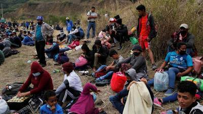 Караван мигрантов потребовал от Байдена выполнения своих обязательств