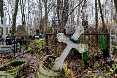 На петербургском кладбище неизвестный украл бюст с могилы