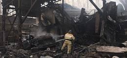 Построенный при Хрущеве пороховой завод взорвался в Рязанской области