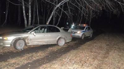 В Башкирии пьяный водитель повредил патрульный автомобиль
