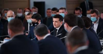 """""""Работа должна быть не на бумаге"""": Зеленский назвал первое задание Конгрессу местных и региональных властей"""