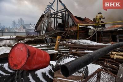 В Койгородском районе на пожаре погиб мужчина