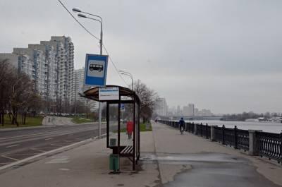 Несколько автобусных остановок перенесут в Москве