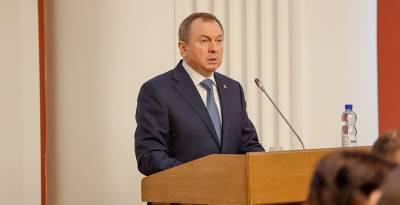 Владимир Макей о призывах псевдопатриотов к санкциям: они совершают преступление против своего народа