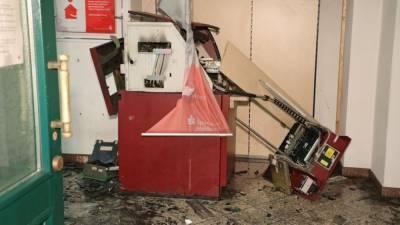 Инцидент в Саксонии: грабители на дорогом автомобиле взорвали банкомат