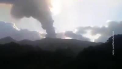Вулкан Суфриер оставил без света сотни жителей Сент-Винсента