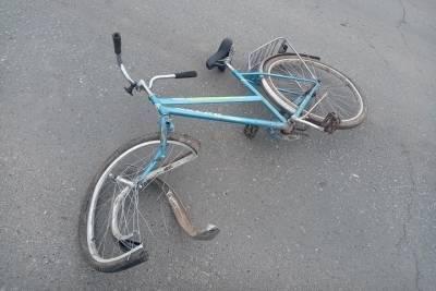 На дороге в Марий Эл грузовик сбил нетрезвого велосипедиста