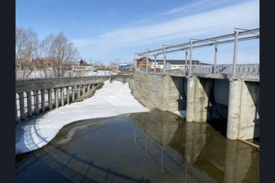 Новая плотина на реке Тула под Новосибирском защитит села от паводка