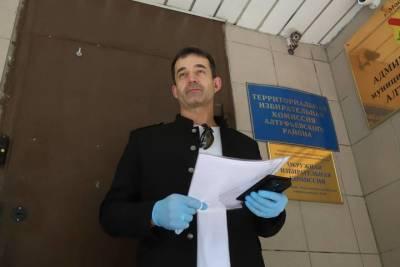 Дмитрий Певцов подал документы для регистрации кандидатом в депутаты Госдумы