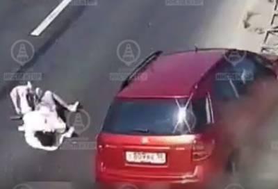 Женщина серьёзно пострадала в ДТП в Адмиралтейском районе