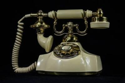 Где провели первую телефонную линию в России