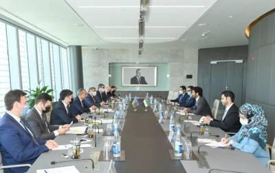 Расширяется экономическое сотрудничество между Азербайджаном и ОАЭ (ФОТО)