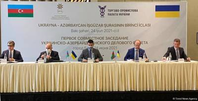 Создан украинско-азербайджанский деловой совет (ФОТО)