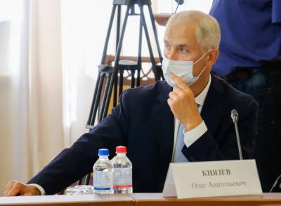 Губернатор Игорь Бабушкин представил кандидата на пост председателя астраханского правительства