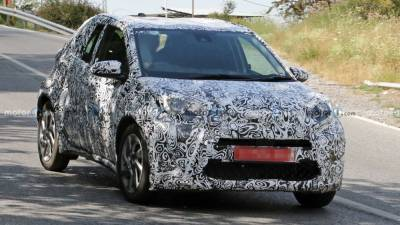 В Европе тестируют Toyota Aygo третьего поколения