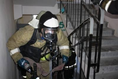 В Астрахани при пожаре на ул. Савушкина пострадал пенсионер