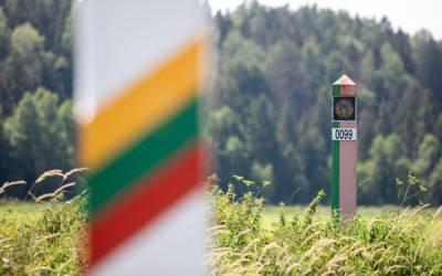 Литовские пограничники перехватили уже 3.145 нелегальных мигрантов