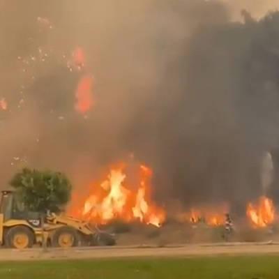 Ситуация с природными пожарами на юге Турции постепенно нормализуется