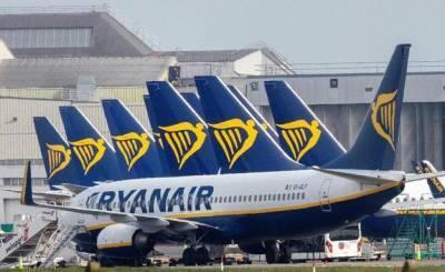Лоукостер Ryanair запускает новый рейс в Украину