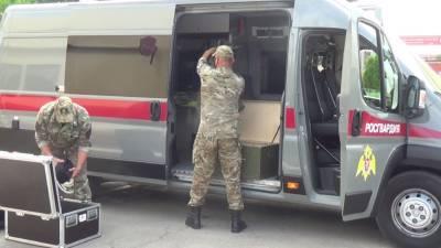 В Астрахани силовики провели учения по предотвращению теракта в музее
