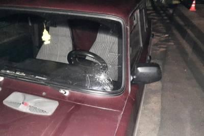 В Сосновке водитель легковушки сбил 17-летнего пешехода