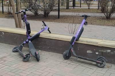 В Хабаровске украли электросамокат