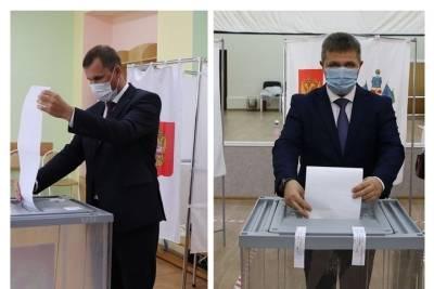 Вице-губернаторы Кубани проголосовали на выборах депутатов в Госдуму