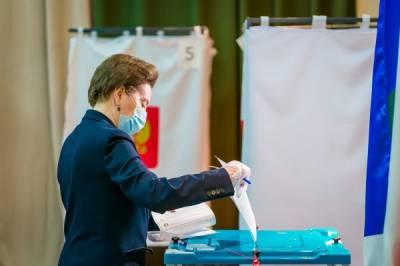 Губернатор Югры проголосовала в первый день выборов