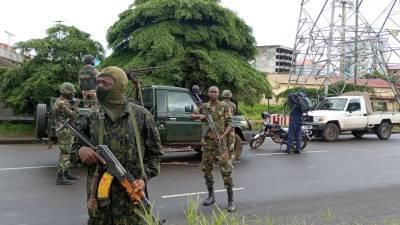 В Гвинее столкнулись два грузовых состава, принадлежащие концерну «Русал»